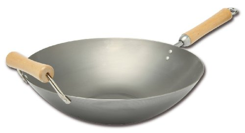 Joyce Chen 21-9978, Classic Series 14 Inch Carbon Steel Wok