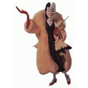 """Hallmark Keepsake Ornament Cruella Deville - 101 Dalmatians """"Unforgettable Villains"""" 1st in Series - 1998 (QXD4063)"""