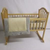 Amazon.com : Suede Susie Cradle Bedding - Color: Ecru Size ...