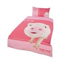 Girls/Kids Animals, The Pig Design Quilt/Duvet Cover ...