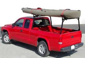 kayak racks for trucks us rack rail truck rack no drill installation for standard side truck beds black from us rack