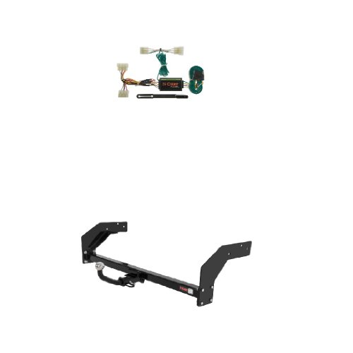 Curt 123032 55304 Trailer Hitch Wiring and Tow Package
