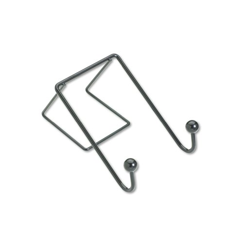 Fellowes Wire Partition Additions Double Coat Hook (75510