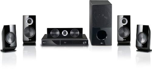 LG HX906SB 3D 5.1 Blu Ray Heimkinosystem (HDMI, WLAN, DivX-zertifiziert, DVD, USB 2.0) schwarz