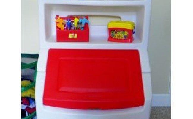 Amazon Toy Game Step 2 Lift Hide Bookcase Storage