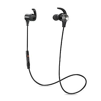 Bluetooth Kopfhörer TaoTronics Bluetooth 4.1 Kopfhörer Stereo In Ear Ohrhörer mit Mikrofon, magnetische Headset für iPhone 6 6S 6 Plus 6S Plus 5S 5 5C 4S 4, Samsung Galaxy S6 S6 Edge S5 S4 Mini