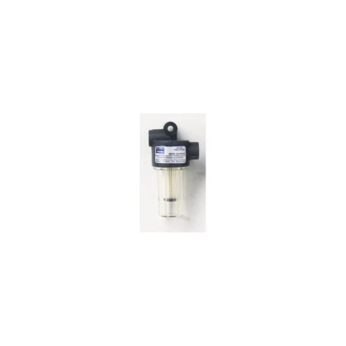 small resolution of in line gasoline fuel filter 250 micron size 2 25 x 4 25 filter cleanable plastic by parker hannifin corp racor
