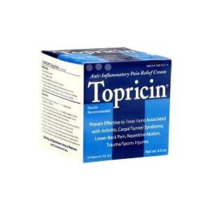 Anti Inflammatory Supplements Topricin Topricin Cream Jar