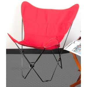 Amazoncom  Red Butterfly Chair Cover  Folding Chairs