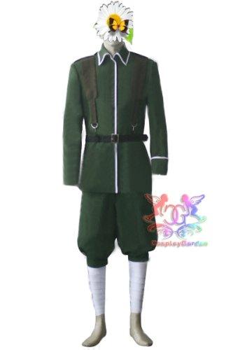 送料無料◆【男性M】高品質コスプレ衣装/コスチューム ◆Axis powers ヘタリア  ドイツ ルートヴィッヒ