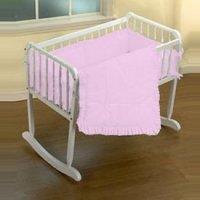 Amazon.com : Simplicity Cradle Bedding - Color Pink - Size ...