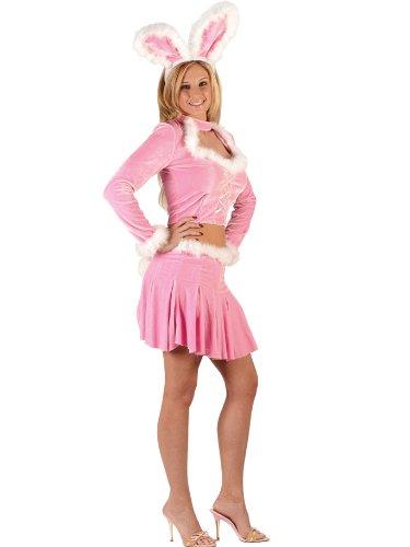 Bunny Girl Sexy Costume Pink Costume Playboy Halloween