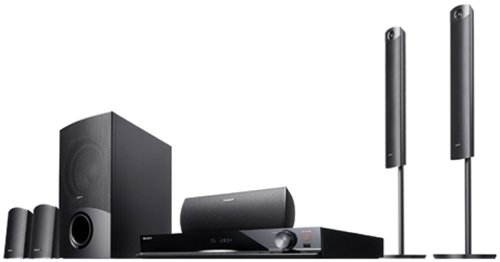 Sony DAV-DZ740 5.1 DVD-Heimkinosystem (1000W, HDMI 1080p Upscaling, ARC, USB) schwarz