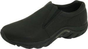 Merrell Men's Jungle Moc Leather Slip-On Shoe,Midnight Slip-On Shoe,11 M US