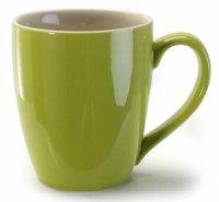 Amazon.com: BIA Cordon Bleu 15 ounce Green Coffee Mugs ...