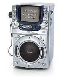 Amazon.com: Memorex Karaoke System with 3 Disc CD Changer