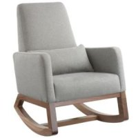 Rocking Chairs: Grey Rocking Chair