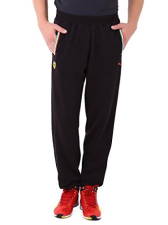 Puma Men's Polyester Track Pants (4055262453503_76179701_Large_Black)
