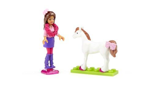 Mega Bloks 80236U Nikki e Il Suo Pony