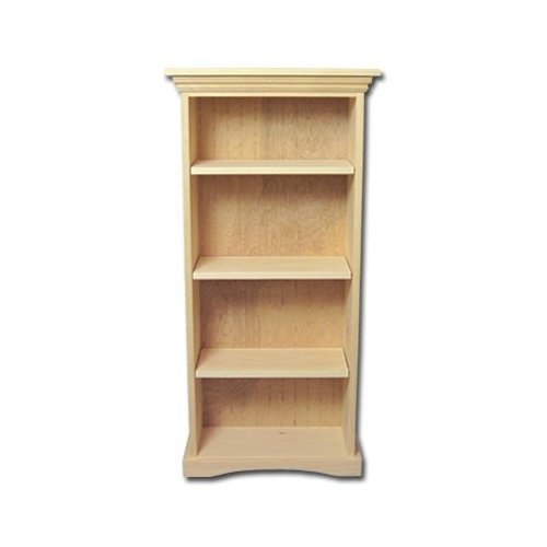 Amazoncom New Solid Wood Bookcase Kit Unfinished Wood