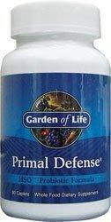 Garden of Life Primal Defense HSO Probiotic Formula -- 90 Caplets