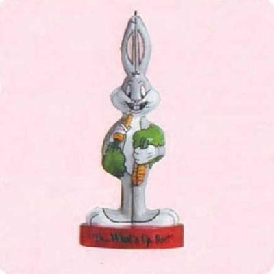 Hallmark Bugs Bunny Looney Tunes Pressed Tin Ornament