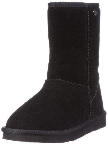 Buffalo Girl 238892 SY SUEDE 120862, Damen Stiefel, Schwarz (BLACK 01), EU 39