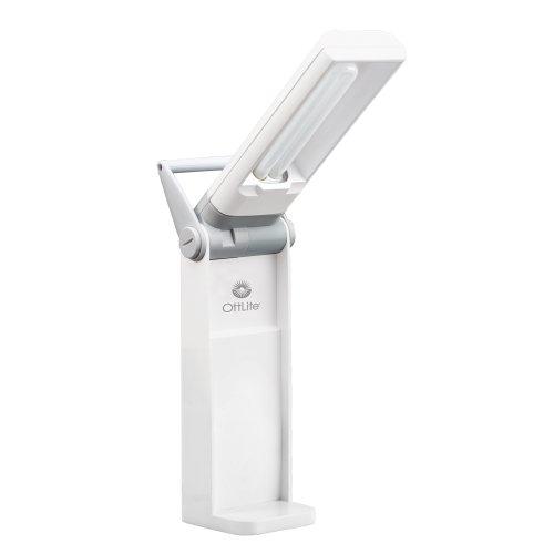 OttLite T48086 Task Lamp with Swivel Base in White