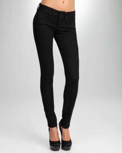 Buy Bebe Signature Stretch Skinny Jean Black Size 27 from bebe