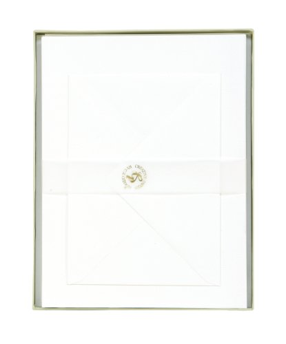 CR Gibson Boxed Stationery With 50 Sheets Of Letter Paper