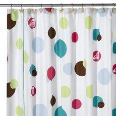 Contemporary Shower Curtains Beautiful Roxy Room Dot Boardshort