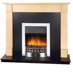 Dimplex Rochester Electric Fireplace Suite Amazoncouk Kitchen  Home