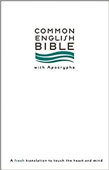 CEB Common English Thinline Bible with Apocrypha Softcover