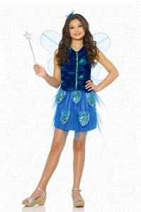 Enchanted Butterfly Child Halloween Costume Size 8-10 Medium