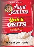 Aunt Jemima Quick Grits Net Wt. 36.8 Oz