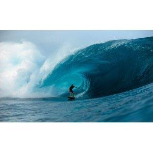 99x164 Oahu Surfer Riding Wave Huge Wall