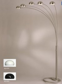 Mission Style Arc Floor Lamps