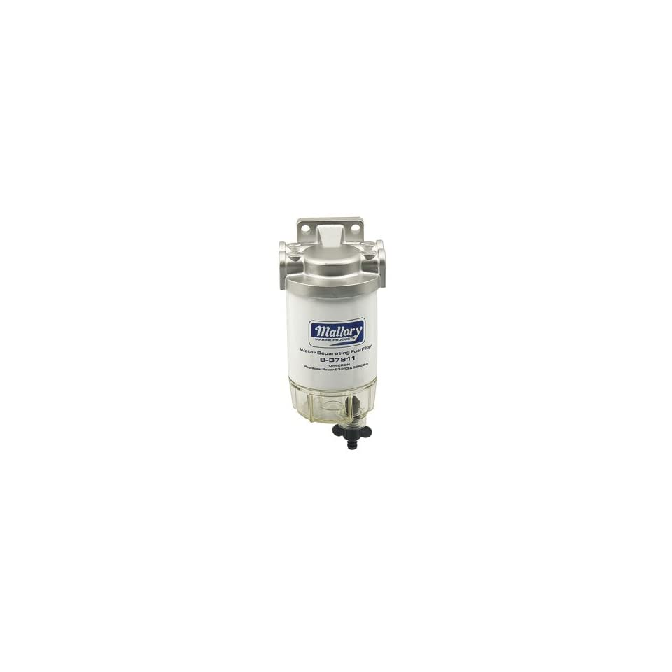 hight resolution of mallory 9 37886 1 4 stainless steel visi bowl fuel filter