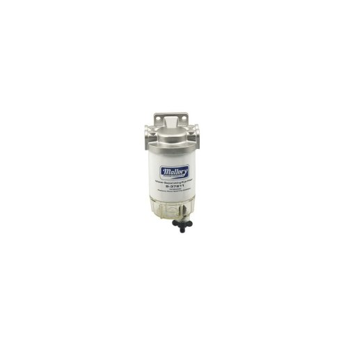 small resolution of mallory 9 37886 1 4 stainless steel visi bowl fuel filter
