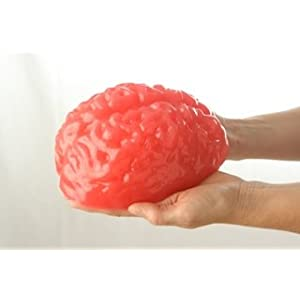 Life-size Edible Gummy Brain