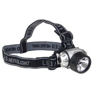 Water & Shock Resistant Super Bright 9 LED Headlamp
