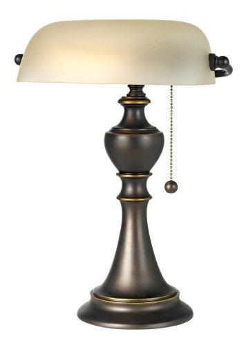 Alabaster Glass Piano Lamp