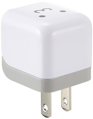 ELECOM エレコム AC充電器 ipod/iPhone6s/6s Plus/iPhone5/4S/4/3GS/3G cube型 USB FACE AVA-ACU01F1