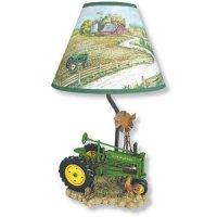 "John Deere Model ""A"" Tractor Lamp - Novelty Lamps - Amazon.com"