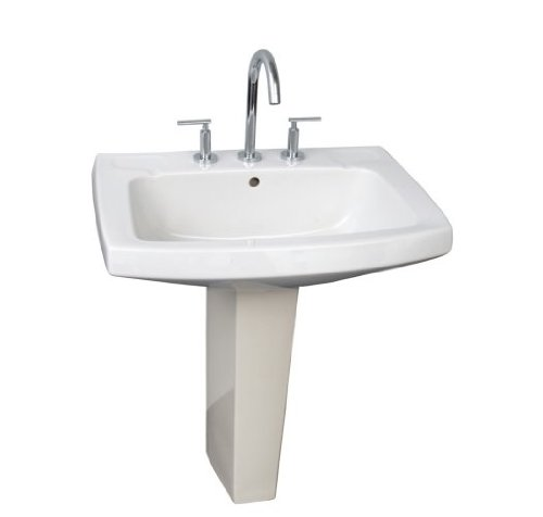 Barclay Galaxy 28 Inch Pedestal Lavatory Discount Nhat23thang513