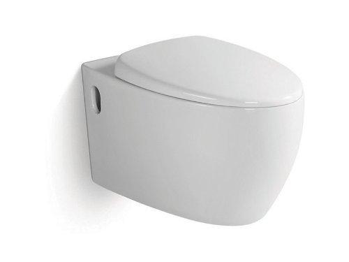 Wellness Design Toilette /Hänge WC Klo Set Frei Stehend /hängend  Moderne  ...