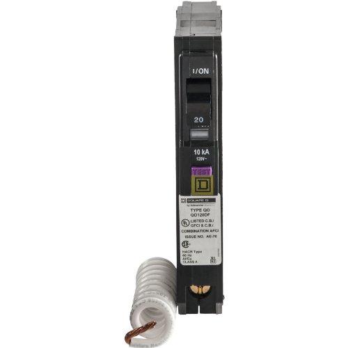 20 Amp Singlepole Plugon Neutral Dual Function Cafci And Gfci