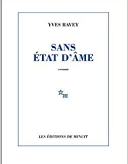 Sans état d'âme de Yves Ravey