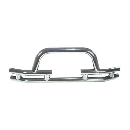 Rugged Ridge 11563 03 Stainless Front Tube Bumper with