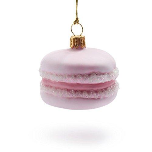 Pink Macaron Christmas Ornament